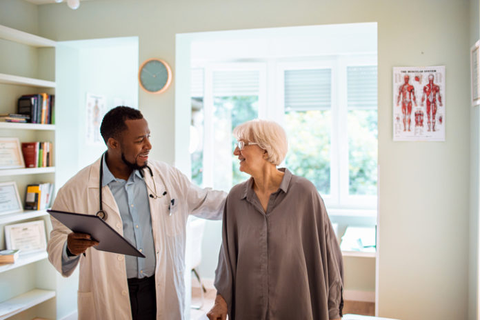 Primary Care Provider with Patient